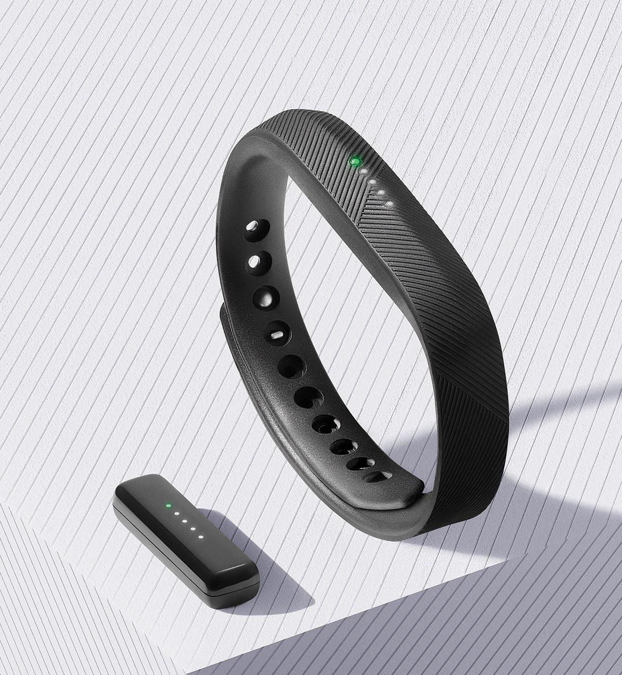 Fitbit Flex 2_Black_Pebble