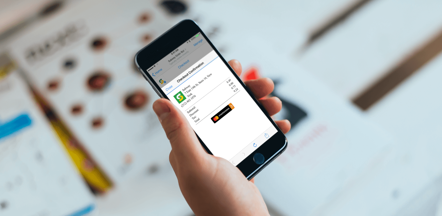 Masterpass allows you to store any kind of credit card in one secure place